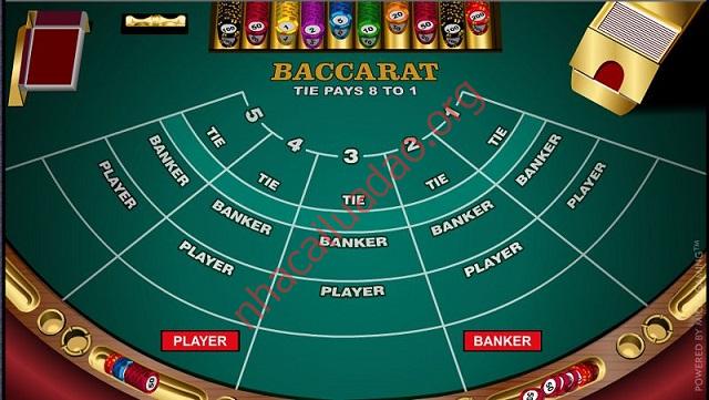 Bài cào Baccarat Minh kaka tham gia