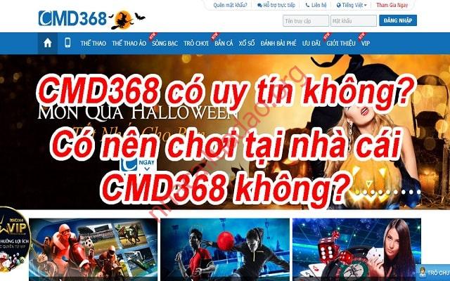 Thực sự CMD368 lừa đảo người chơi?