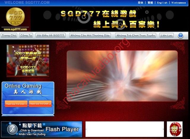 Nhà cái SGD777 lừa đảo người chơi là thông tin không chính xác