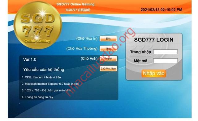 SGD777 có hệ thống bảo mật tiên tiến nhất