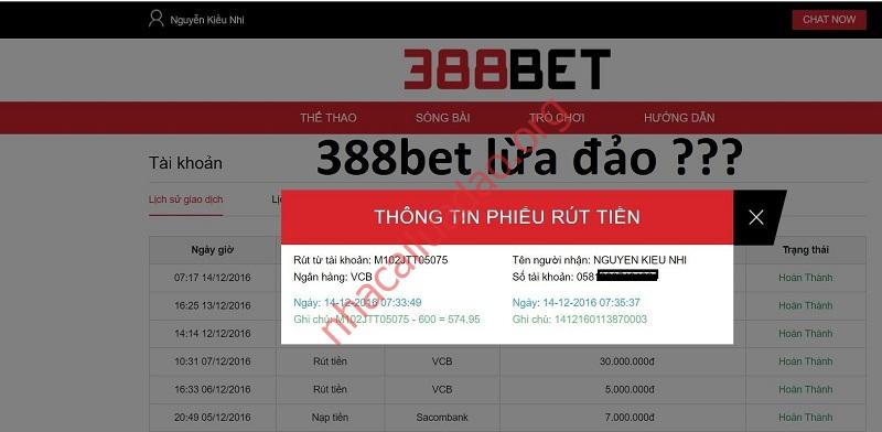 Thông tin 388Bet lừa đảo xuất phát từ đâu?