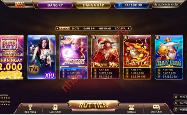 """Macao Club ưu ái được gọi với cái tên """"anh cả trong làng game bài đổi thưởng"""""""