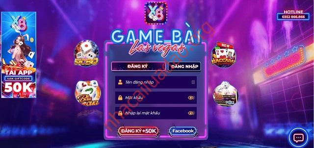 Một số đặc điểm nổi bật của cổng game X8 Club