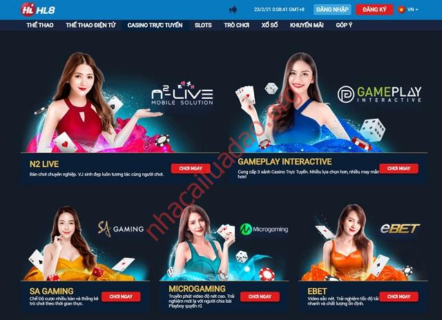 Trang chủ HL8 Asia