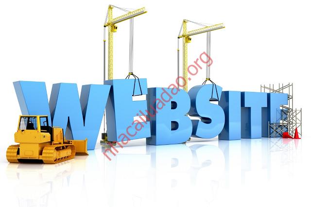 Việc xây dựng website khá đơn giản