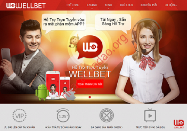 Wellbet - Cổng game cá cược trực tuyến hàng đầu Châu Á